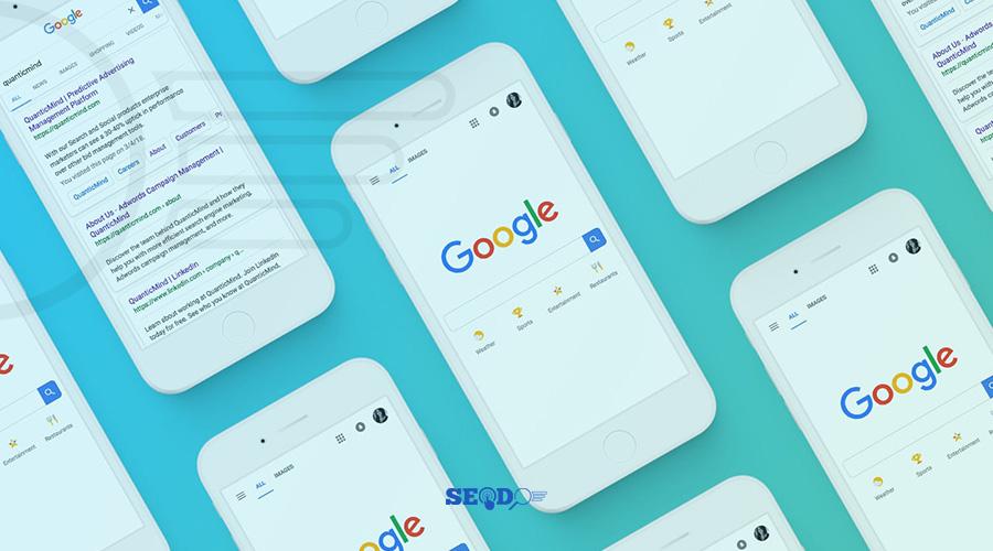 ایندکس شدن سریع سایت در تلفن همراه