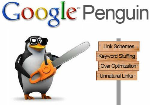 الگوریتم پنگوئن برای بهبود سئو