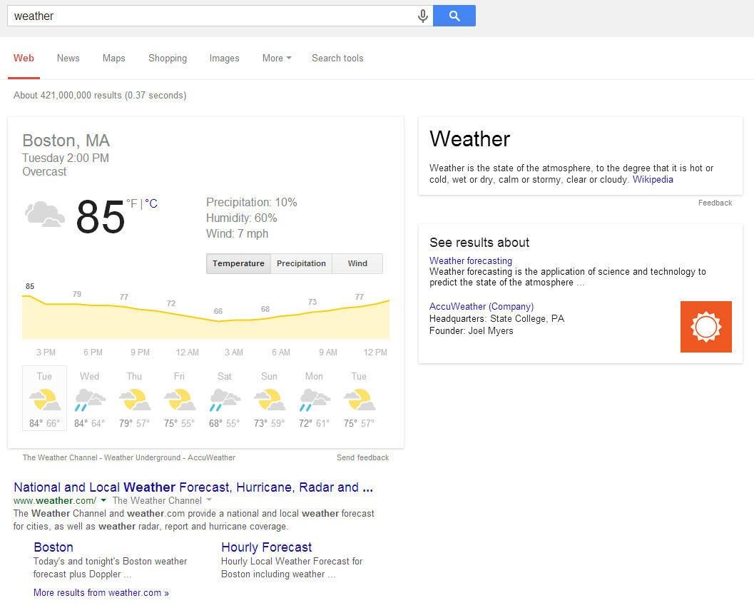 جستجوی معنایی و مرغ مگس خوار گوگل