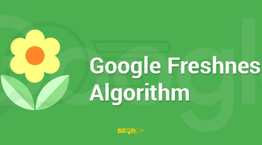 الگوریتم تازگی محتوای گوگل
